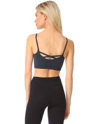Free People - Black Movement Barely There Bra - Lyst