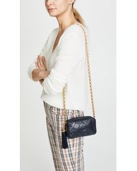What Goes Around Comes Around - Blue Chanel Lamb Camera Mini Bag - Lyst