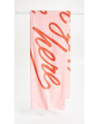 Ban.do - Pink Wish You Were Here Towel - Lyst