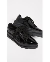 PUMA - Black Fenty X Pointy Creeper Sneakers - Lyst