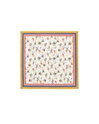 Tory Burch - Multicolor Dancers Silk Square Scarf - Lyst