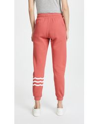 Sol Angeles - Red Sol Essential Jogger Sweatpants - Lyst