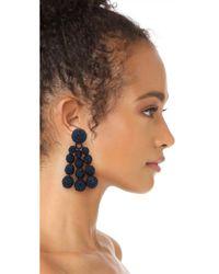 Sachin & Babi - Blue Trinity Clip On Earrings - Lyst