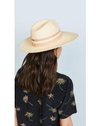 Janessa Leone - Natural Phoebe Hat - Lyst