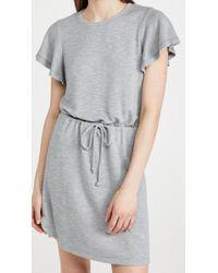 PAIGE Gray Brielle Dress
