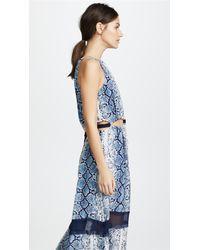 Ramy Brook Blue Norina Dress