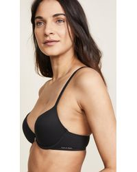 Calvin Klein Natural Perfectly Fit Racer Back T-shirt Bra