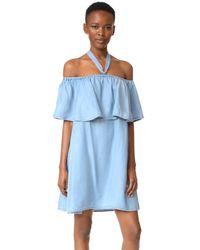 Rebecca Minkoff Blue Havasu Dress