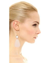 Elizabeth and James - Natural Tulum Earrings - Lyst