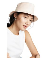 Gigi Burris Millinery Natural Bo Bucket Hat