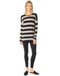 Vince - Black Wool And Cashmere Sweater - Lyst