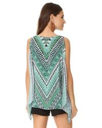 Ramy Brook Green Lily Blouse
