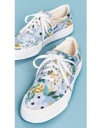 Keds Gray X Rifle Paper Co. Garden Party Sneakers
