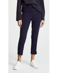 Theory Blue Basic Pull On Pants