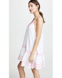 9seed - White St. Tropez Ruffle Mini Dress - Lyst