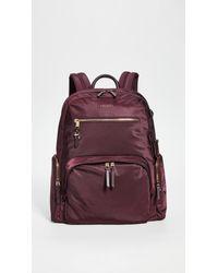 Tumi Purple Carson Backpack