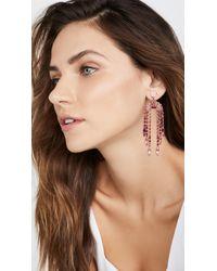 Elizabeth Cole Pink Dorothy Earrings