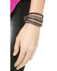 Vita Fede - Metallic Capri 5 Wrap Bracelet - Lyst