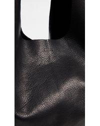 Baggu - Black Leather Tote - Lyst