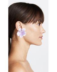 Jennifer Behr - Purple Thalia Earrings - Lyst