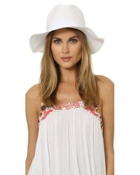 Melissa Odabash White Fedora Hat