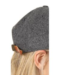 Madewell - Multicolor Wool Blend Baseball Hat - Lyst
