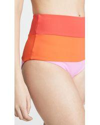 Mara Hoffman - Multicolor Sunrise Colorblock Lydia High Waisted Bottoms - Lyst