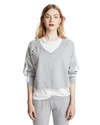 Generation Love Gray Sharyn Sweatshirt