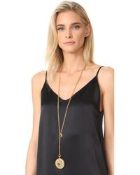 Ben-Amun - Metallic Locket Necklace - Lyst