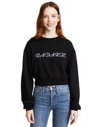 Rodarte Black Radarte Los Angeles Sweatshirt