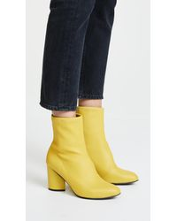 Opening Ceremony - Multicolor Dylan Stretch Leather Booties - Lyst
