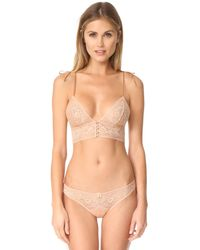 Stella McCartney - Natural Ophelia Whistling Soft Cup Bra - Lyst