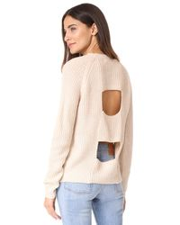 BB Dakota - Natural Jack By Percival Sweater - Lyst