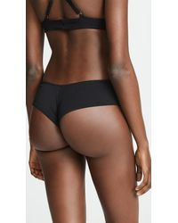 Les Coquines Black Luca Cheeky Bottoms