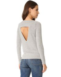 Chaser - Gray Weekend Love Sweatshirt - Lyst