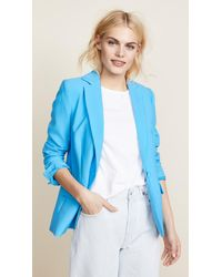 FRAME Blue True Blazer