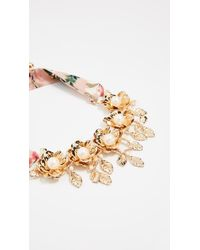 Kate Spade - Metallic Lavish Blooms Statement Necklace - Lyst