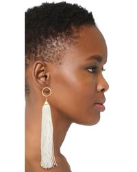 Vanessa Mooney - White The Firefly Earrings - Lyst