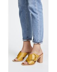 Zimmermann - Multicolor Buckled Mules - Lyst