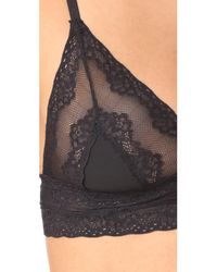Natori - Black Bliss Perfection Triangle Day Bra - Lyst