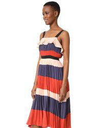 Endless Rose Multicolor Pleated Maxi Dress