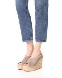 Sigerson Morrison | Multicolor Atifa Espadrille Wedge Sandals | Lyst