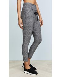Beyond Yoga Multicolor Aquarius Lightweight Midi Leggings