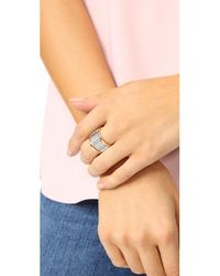 Walters Faith | Metallic Clive Large Fluted Band Ring | Lyst