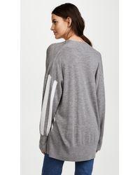 Rag & Bone - Gray Oversized Wool Sweater - Lyst