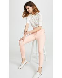 7 For All Mankind Multicolor High Rise Skinny Jeans