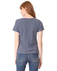 A.P.C. Blue Cyd T-shirt