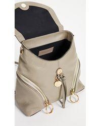 See By Chloé Gray Olga Convertible Backpack