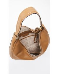 MICHAEL Michael Kors Brown Medium Lydia Hobo Bag