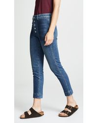 AMO - Blue Audrey Cigarette Jeans - Lyst